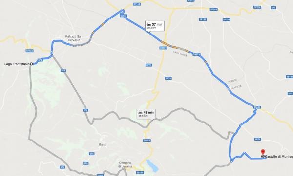 itinerario moto puglia