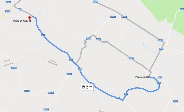 itinerario moto puglia 3