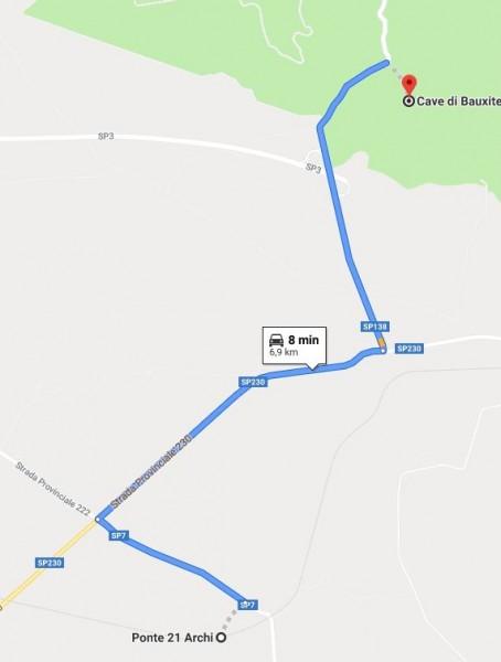 itinerario moto puglia 4