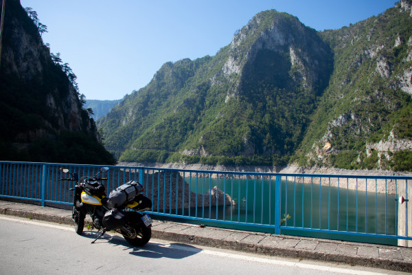 andrea casucci montenegro in moto