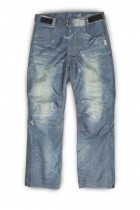 OJ L Pantalone Doppio Strato 4 Stagioni Jeans 100/% Impermeabile Freestyle Pant