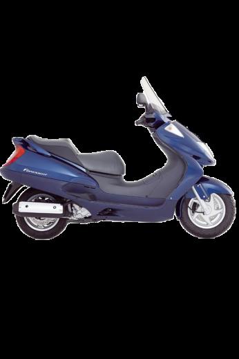 Leg cover for Honda FORESIGHT 250