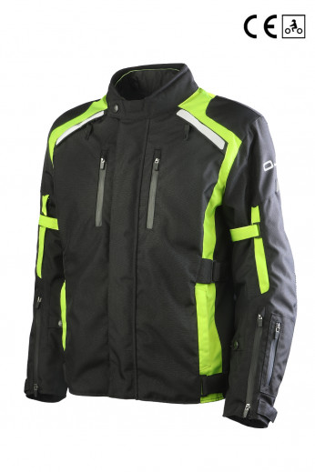INVINCIBLE MAN BLACK / YELLOW FLUO