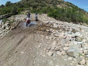In moto sull'Etna