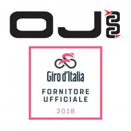 OJ fornitore ufficiale del Giro d'Italia 2018