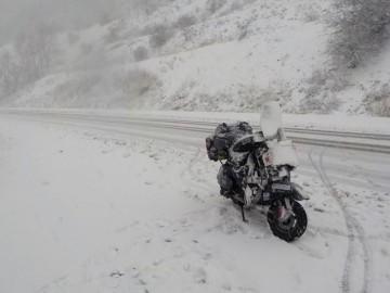 Marco De Musso: viaggare in Vespa si può (anche sotto la neve!)